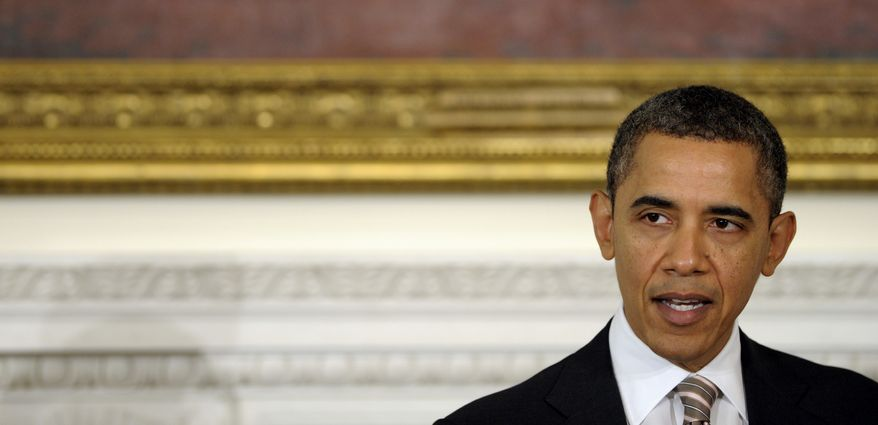 President Obama speaks Feb. 27, 2012, before the National Governors Association at the White House. (Associated Press)