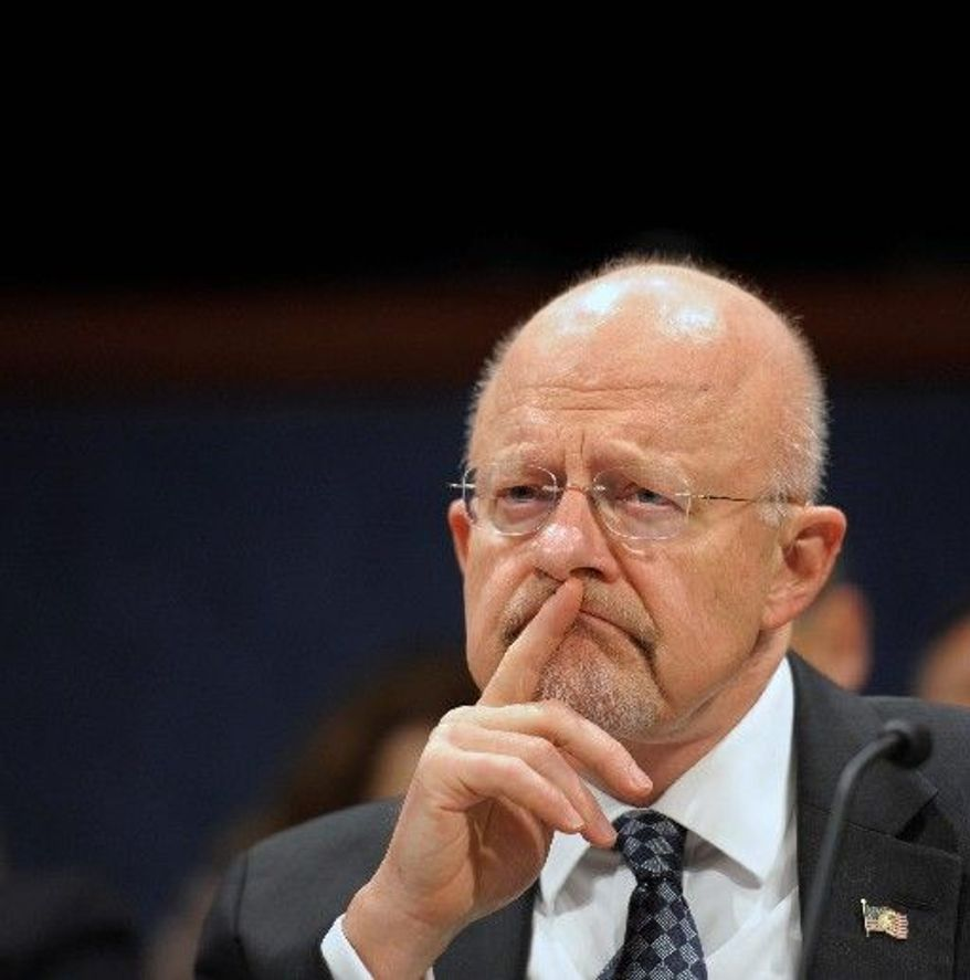 Director of U.S. National Security James Clapper has expressed concern about Iran's uranium enrichment work. (Associated Press)