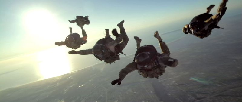 """** FILE ** In this image released by Relativity Media, a scene is shown from the film """"Act of Valor,"""" which stars real, active-duty Navy SEALs. (Associated Press/Relativity Media)"""