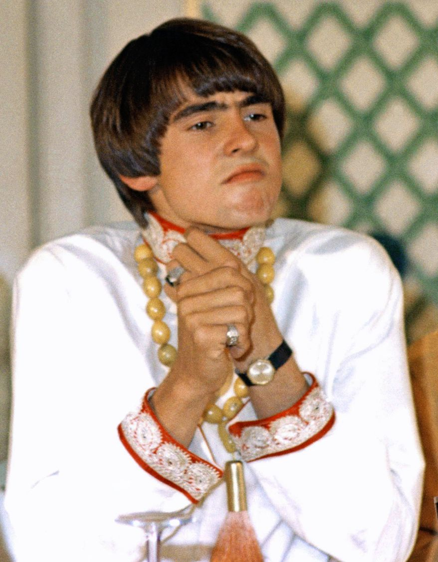 **FILE** Davy Jones of the Monkees is seen at a July 6, 1967, press conference at Warwick Hotel in New York City. (Associated Press)