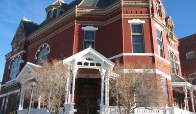 The Copper King Mansion in Butte, Mont., is a 34-room monument to tycoon William A. Clark. It's also a bed-and-breakfast that offers guests a glimpse into the life of an American robber baron of the 19th century. (Associated Press)