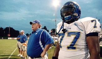 """""""Undefeated"""" is a documentary about an underdog high school football team in Memphis, Tenn., whose fortunes changed because of the dedication of a volunteer coach. (Photo courtesy The Weinstein Co.)"""