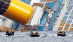 """A passenger of the Costa Concordia told Capitol Hill lawmakers that the crew of the ship did not conduct a muster drill, but only showed a safety video followed by a sales pitch. Sen. John D. Rockefeller IV called for the cruise industry to improve safety regulations. """"You are a world unto yourself,"""" he said. (Associated Press)"""