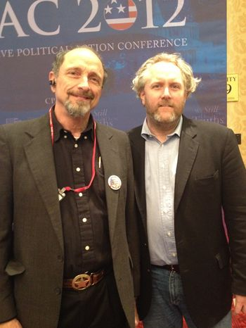 Andrew Breitbart CPAC filing room