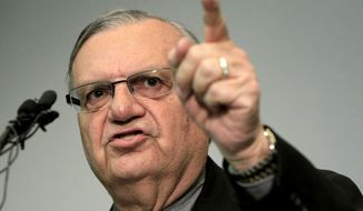 Maricopa County Sheriff Joe Arpaio (AP Photo/Ross D. Franklin)