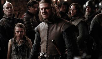 """Sean Bean as Eddard Stark in the Blu-ray release """"Game of Thrones: The Complete First Season."""" (Courtesy HBO Home Video)"""