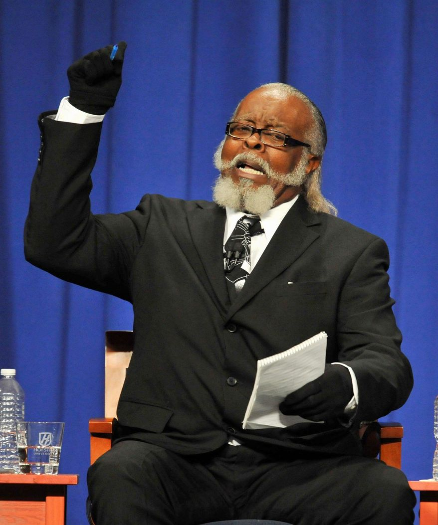 The New York City-based Rent is 2 Damn High Party - founded by karate expert and Vietnam War veteran Jimmy McMillan, who has run for mayor three times and received 40,000 votes in the state's 2010 gubernatorial election - is inalterably opposed to, well, rent being too damn high. (Associated Press)