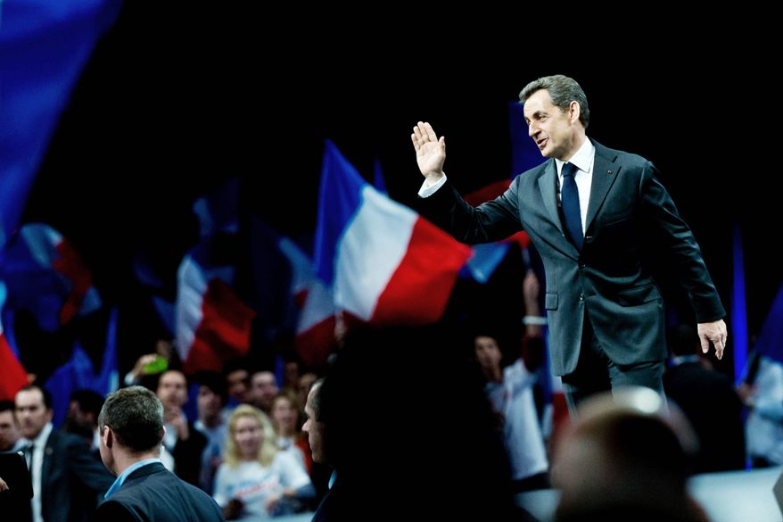 """President Nicolas Sarkozy is facing an image problem as he runs for a second term. """"It's not his record. It's him. In the end, he is not loved,"""" a senior adviser at a Paris think tank says. (Associated Press)"""