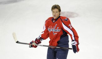 Alexander Semin signed a one-year, $7 million deal with the Carolina Hurricanes on Thursday. (AP Photo/Nick Wass)