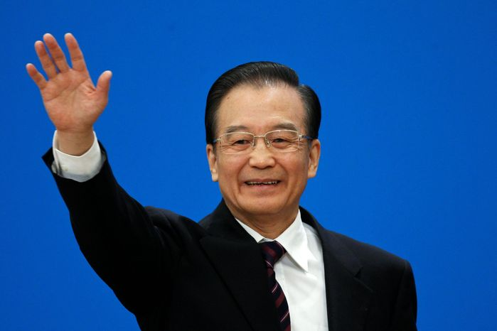 """Without successful political reform, it is impossible for us to fully institute economic system reform. The gains we have made in this area may also be lost,"" Chinese Premier Wen Jiabao said. (Associated Press)"