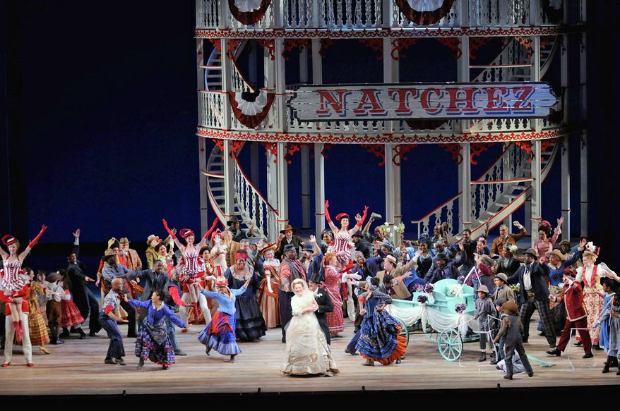 "The Lyric Opera of Chicago stages ""Show Boat"" last month under the direction of Francesca Zambello. Washington National Opera will perform it next spring. (Photo courtesy Washington National Opera)"
