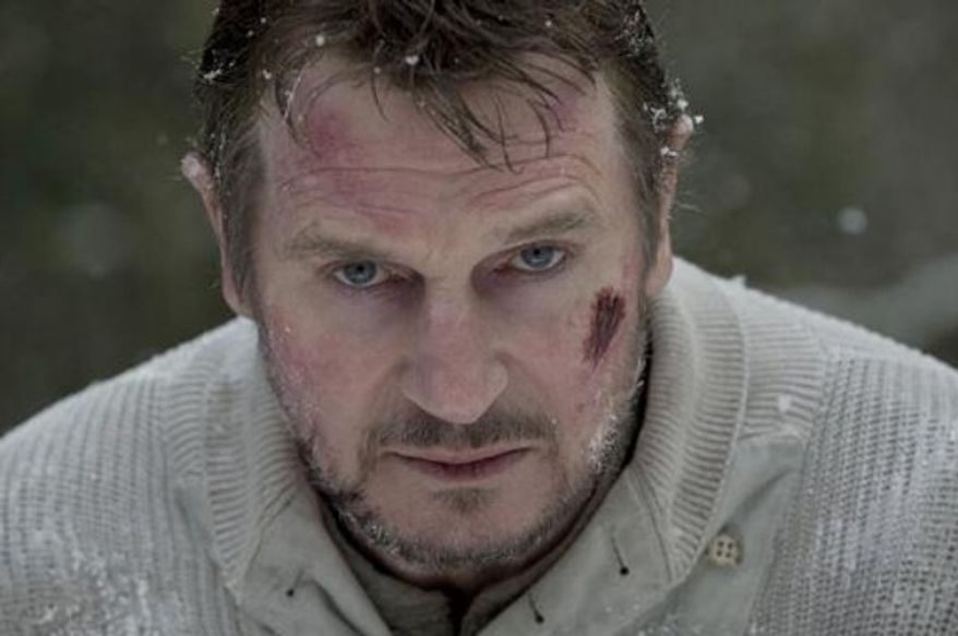 "Liam Neeson in ""The Grey."" (Courtesy of Open Road Films)"