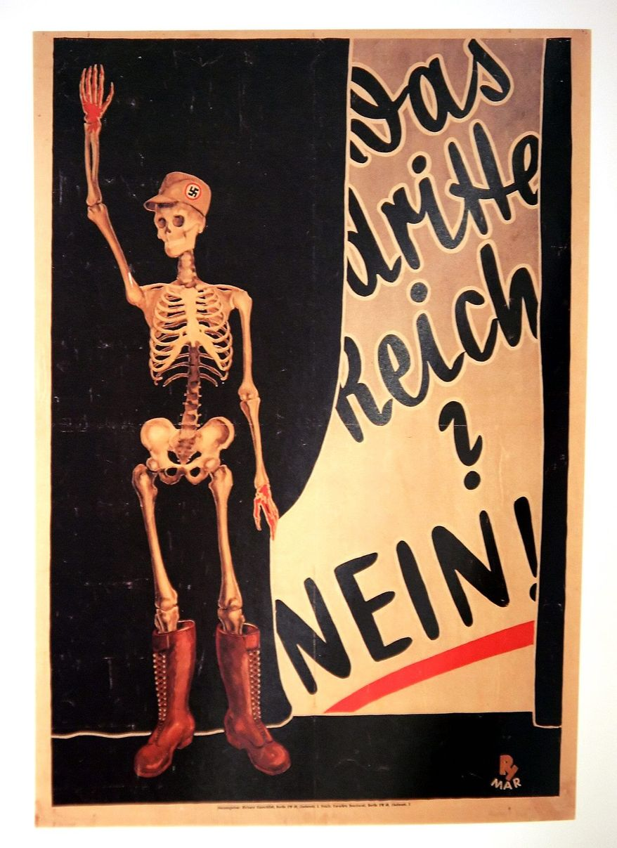 A poster by P.H. Mar, circa 1932, is part of a collection of thousands of rare posters believed to be worth between $6 million to $21 million. A German court ruled that they should be released to Peter Sachs by a Berlin museum. (Peter Sachs via Associated Press)