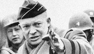 Gen. Dwight D. Eisenhower, leader of Allied forces in World War II,was one of the few 'political outsiders' who made it to the White House. (Associated Press)