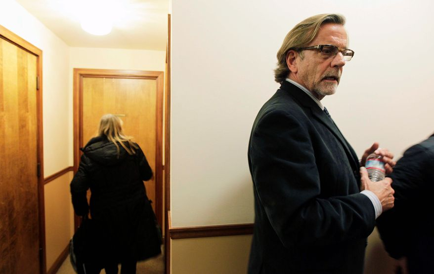 Attorney John Henry Browne said his client, Army Staff Sgt. Robert Bales, remembers very little about the night of March 11 when 16 Afghan civilians were slain during a shooting spree. Sgt. Bales stands accused of the killings and is being held at Fort Leavenworth, Kan. (Associated Press)