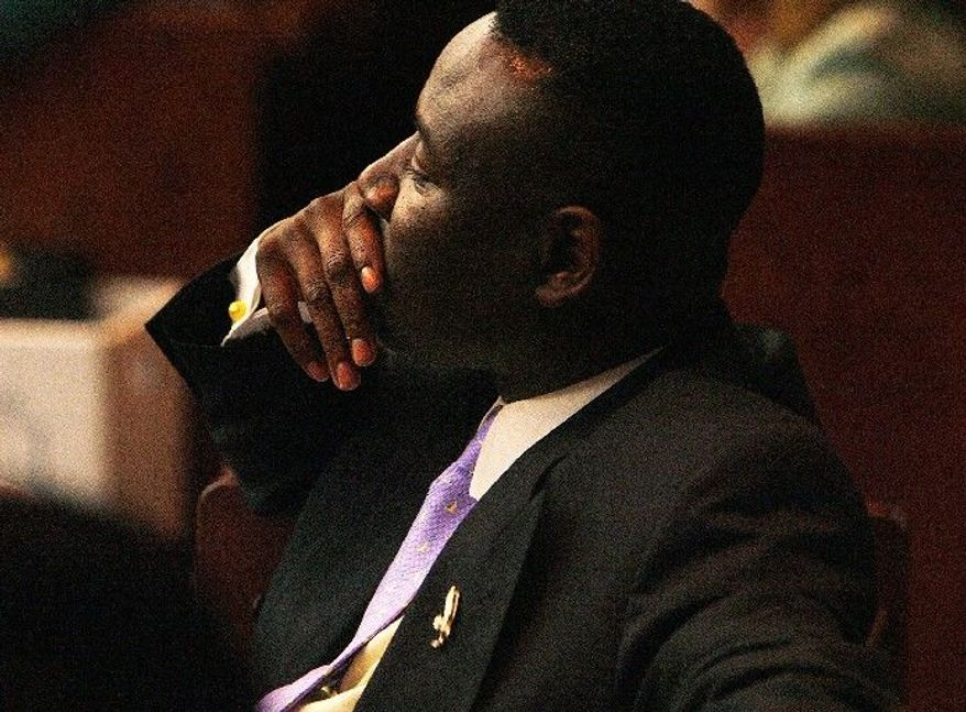 Attorney Benjamin Crump, representing the Martin family in Sanford, Fla., has demanded that the man who killed Trayvon Martin be arrested immediately. (Associated Press)