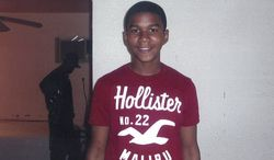 ** FILE ** Trayvon Martin, a Florida teen who was shot and killed in February 2012 while unarmed, is pictured in an undated family photo. (Associated Press/Martin family photo)