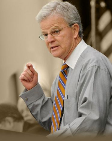 Independent presidential hopeful Buddy Roemer is in Washington Thursday to talk campaign finance corruption with Jack Abramoff and former Federal Election Commission chairman Trevor Potter. (Buddy Roemer)