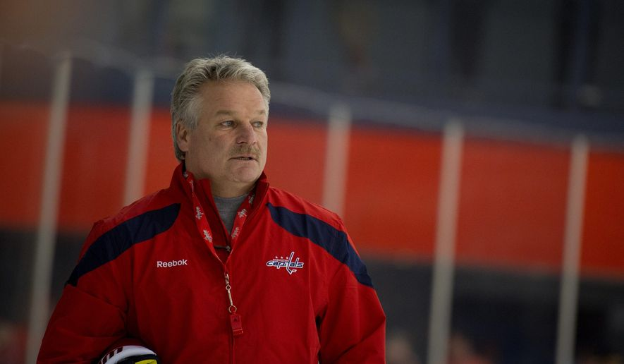 Dale Hunter was the fastest coach in Ontario Hockey League history to reach 400 victories, doing so in 599 games with the London Knights, before he agreed in November 2011 to take over as coach of the Capitals. Hunter decided not to return for the 2012-13 season.(Rod Lamkey Jr./The Washington Times)
