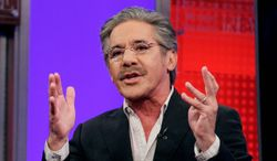 """In this 2010 photo, Fox News Channel commentator Geraldo Rivera speaks on the """"Fox & Friends"""" television program in New York. (Associated Press)"""