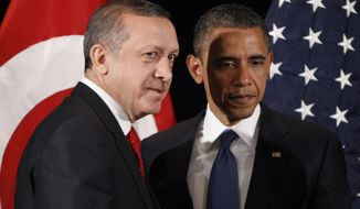 President Obama and Turkey President Recep Tayyip Erdogan (Associated Press/File)
