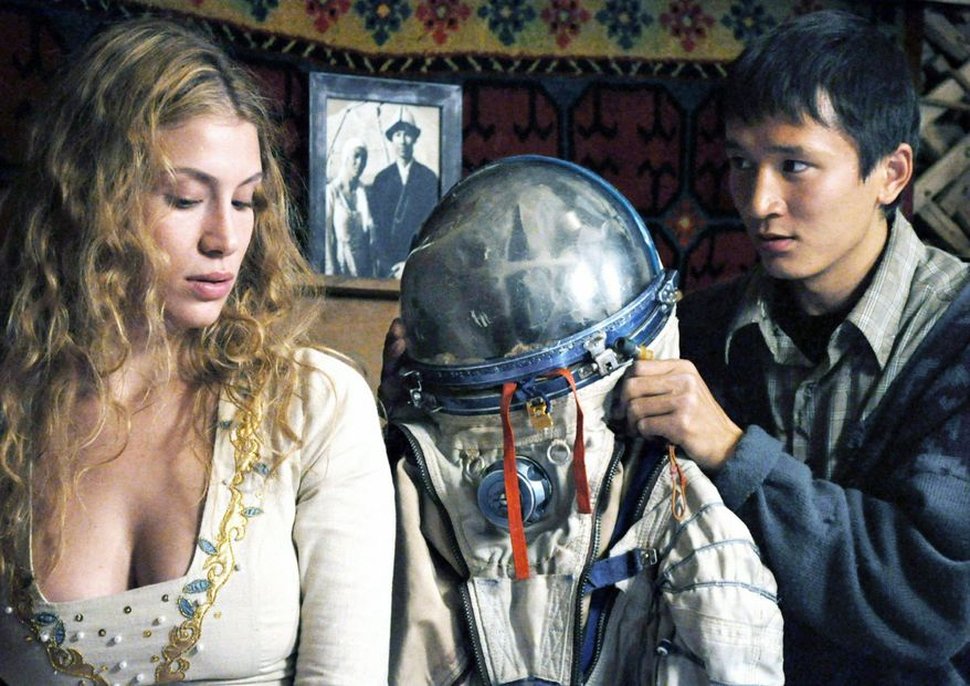 """German screenwriter/director Veit Helmer came up with idea for 2011's adventure-comedy """"Baikonur"""" after running workshops for film students in Almaty. The film revolves around a French """"space tourist"""" who falls from the sky into the life of a young Kazakh villager.  (Kazakhfilm)"""
