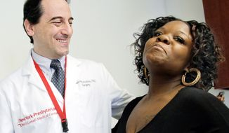 Dr. Francesco Rubino, a surgeon at New York-Presbyterian Hospital/Weill Cornell Medical Center, joins Tamikka McCray for an interview Friday. She no longer needs to take diabetes medication and insulin since her weight-loss surgery. (Associated Press)