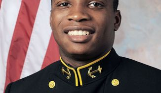 Navy's Jarvis Cummings was in competition to become the backup quarterback last season. He didn't get the job, and now he is making the position switch to linebacker in order to get playing time.