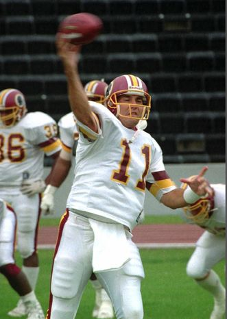 **FILE** Former Washington Redskins quarterback Mark Rypien (Associated Press)