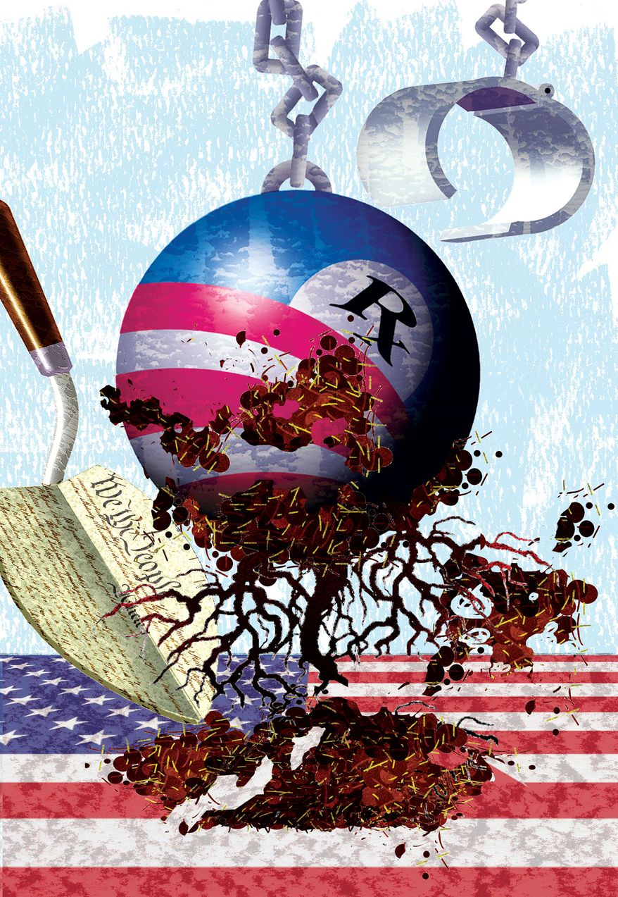 Illustration by Alexander Hunter for The Washington Times