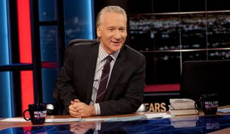 """Real Time,"" hosted by Bill Maher, isn't a place to not know your stuff so come prepared to engage the other guests and defend your views, say those who have been on the show. (HBO via Associated Press)"