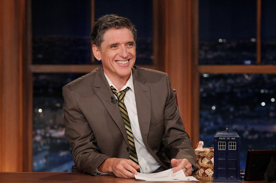 Craig Ferguson. (CBS via Associated Press)