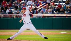 Tyler Clippard was converted  to a reliever in 2009. Two seasons later he was named to the National League All-Star team. (Andrew Harnik/The Washington Times)