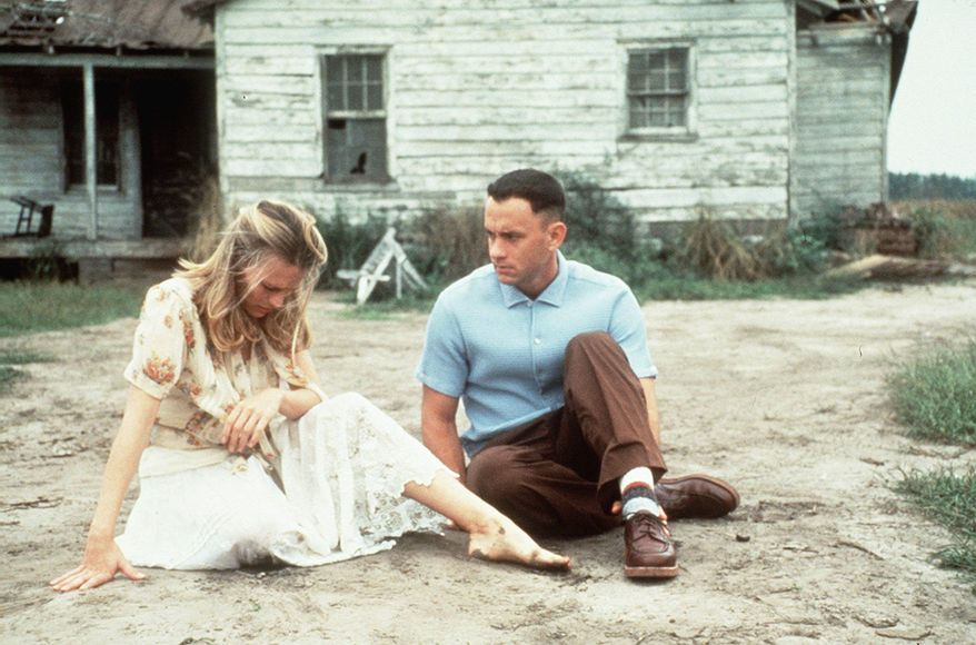 "Tom Hanks in ""Forrest Gump."""