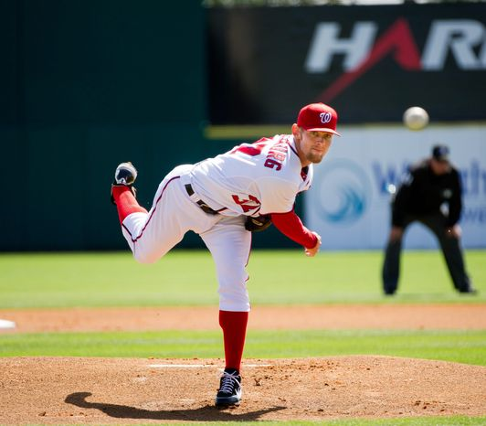 Stephen Strasburg will be shut down once he reaches about 160 innings. He started five games in 2011 in his return from el