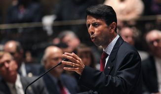 Some disgruntled Louisiana educators are weighing a bid to recall Louisiana Gov. Bobby Jindal, but no one in the governor's mansion is panicking. (Associated Press)