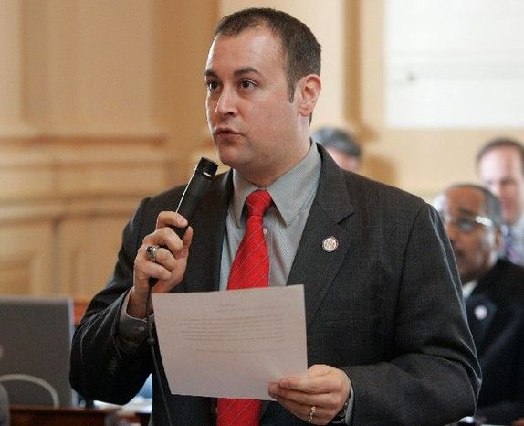 Delegate David L. Englin, Alexandria Democrat, is considered a rising star in the party. So his decision not to seek a fifth term disappointed other party members. (Associated Press)
