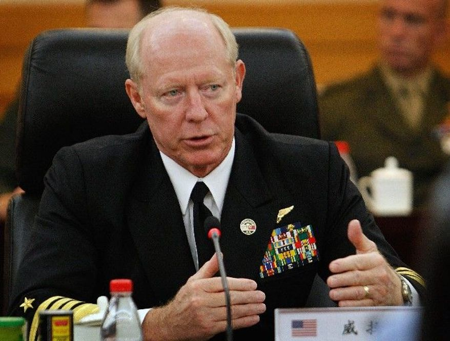 """""""There is development within North Korea of a road-mobile [ICBM] system that we've observed,"""" says Adm. Robert F. Willard, U.S. Pacific Command chief. (Associated Press)"""