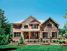 The Duke model at the Woodlands at St. Georges in Bear, Del., has 3,700 square feet and is priced from $498,995. Buyers of this model can choose from four facades.