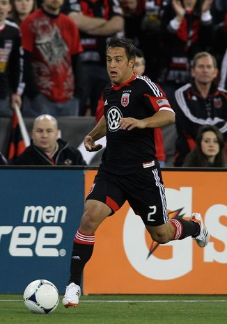 Twenty-two-year old Danny Cruz had a goal and an assist in D.C. United's last game, a win over FC Dallas. (D.C