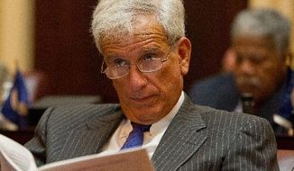Virginia State Sen. Richard L. Saslaw, Fairfax County Democrat (Andrew Harnik/The Washington Times)