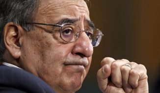 **FILE** Defense Secretary Leon Panetta testifies March 7, 2012 on Capitol Hill. (Associated Press)