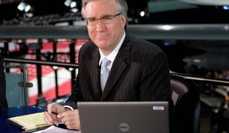 ESPN has suspended Keith Olbermann for the rest of the week after he went on a Twitter rant against Penn State students. (Associated Press) ** FILE **