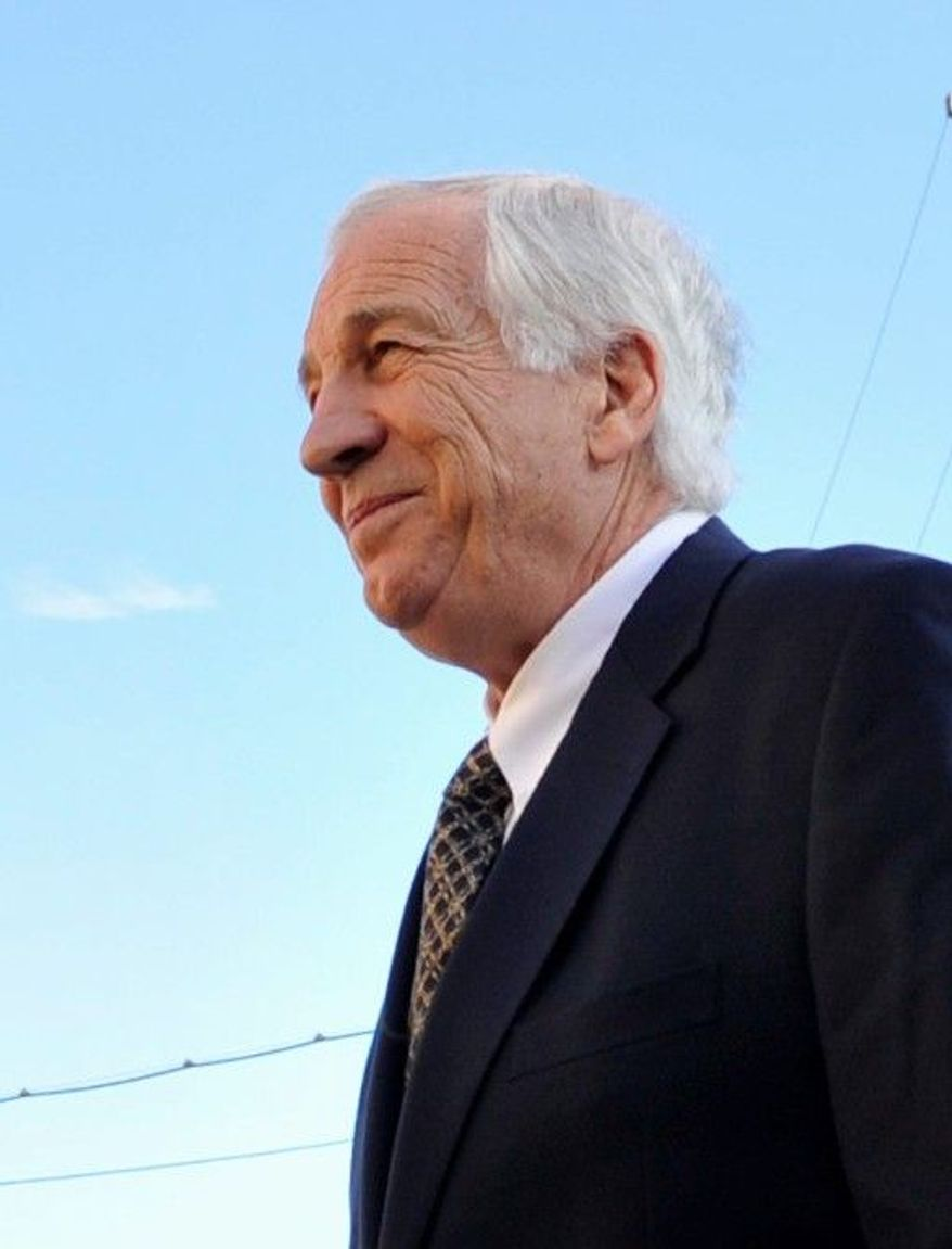 Jerry Sandusky fondled, exposed himself or had sex with boys, eight alleged victims told a grand jury. (Centre Daily Times via Associated Press)