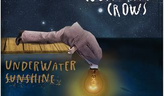 "Album cover for Counting Crows ""Underwater Sunshine (Or What We Did On Our Summer Vacation)"