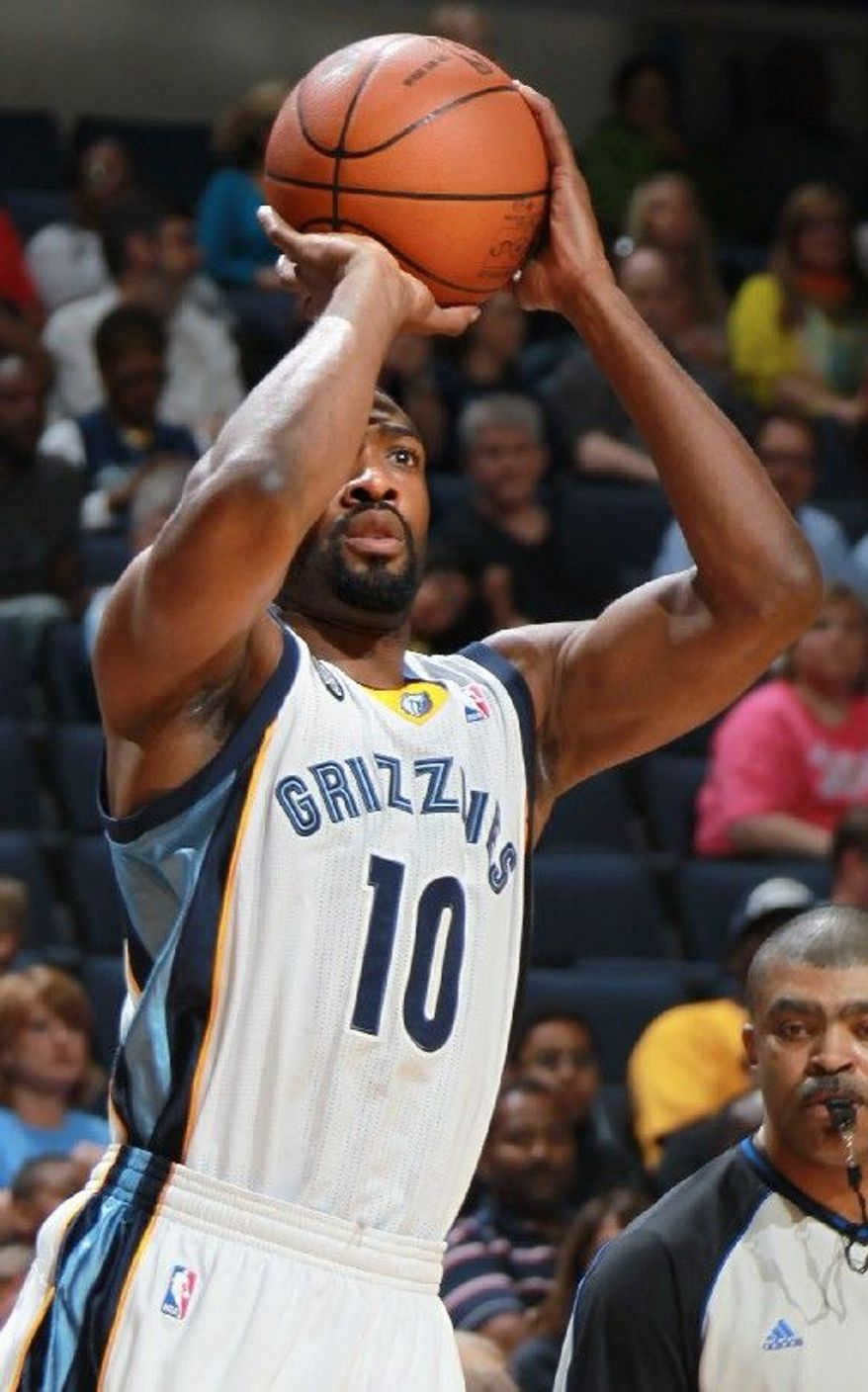 GILBERT ARENAS: Signed to a six-year, $110 million free agent contract in 2003, he quickly became a fan favorite in part because of his quirky personality. Arenas' tenure in Washington unraveled after he was convicted of felony gun possession. (Associated Press)