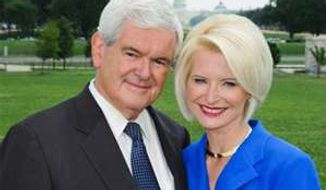 Campaigning is now a family affair for Newt and Callista Gingrich, who both appear at the annual NRA convention on Friday. (image from Newt.org)