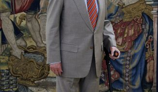 ** FILE ** King Juan Carlos of Spain (AP Photo/Daniel Ochoa de Olza)