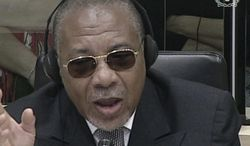Former Liberian President Charles Taylor is on trial for war crimes in Sierra Leone, but many Liberians want him to face justice for massacres, rapes and torture committed during his rule of their country. (International Criminal Court via Associated Press)