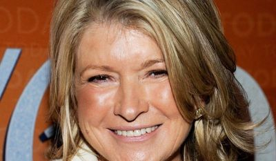 """""""Martha Stewart's Cooking School,"""" described as a culinary master class, will air weekly on PBS starting this fall. (Associated Press)"""